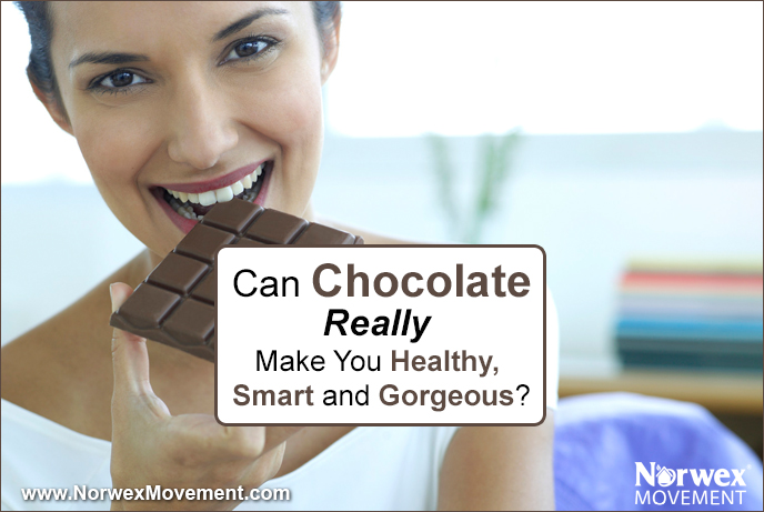Can Chocolate Really Make You Healthy, Smart and Gorgeous?