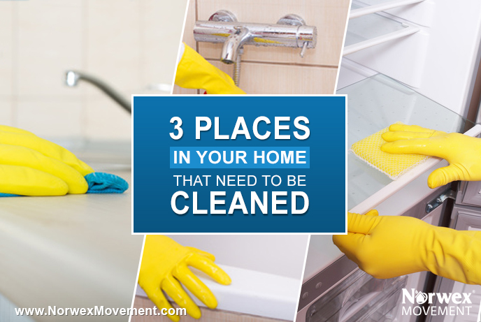 3 Places in Your Home That Need to Be Cleaned