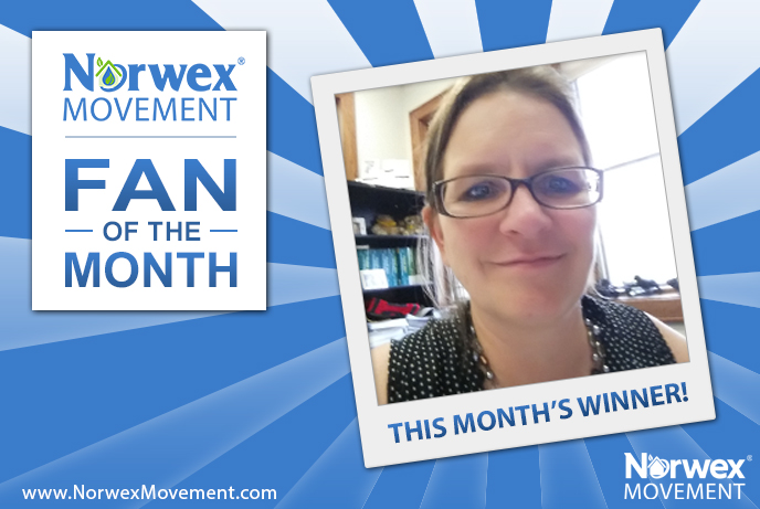 Norwex Movement January 2017 Fan of the Month!