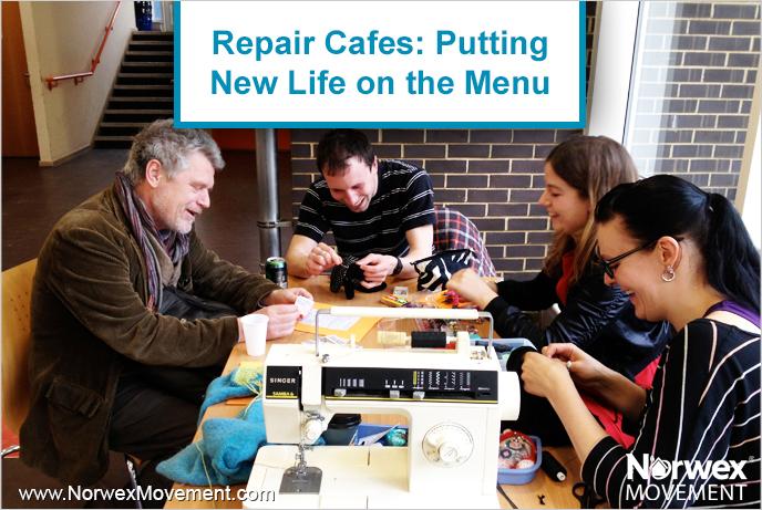 Repair Cafés: Putting New Life on the Menu