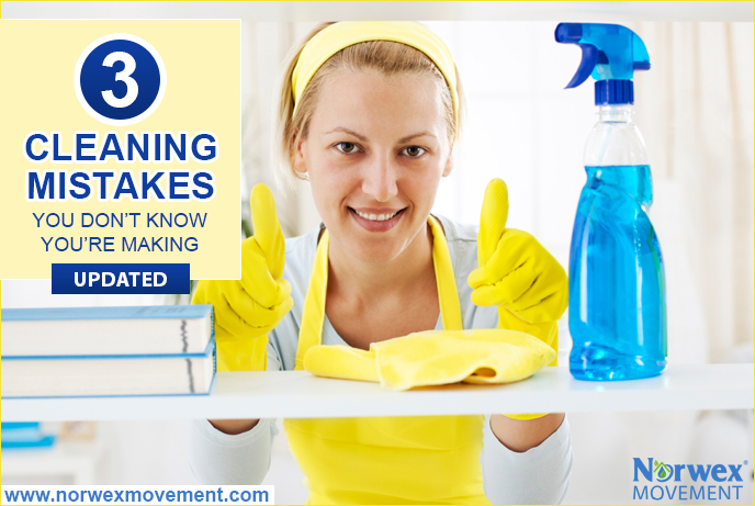 3 Cleaning Mistakes You Don't Know You're Making [Updated]
