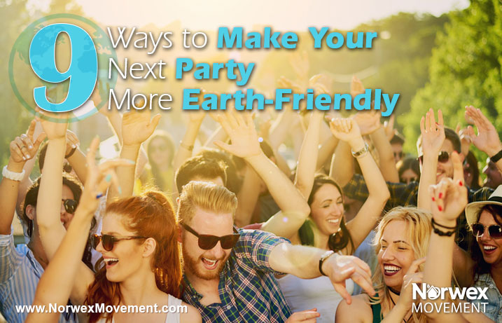Party the Earth Friendly Way