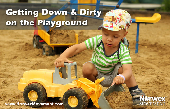 Down and Dirty on the Playground
