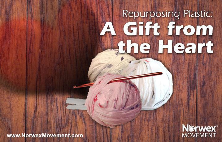 Repurposing Plastic: A Gift from the Heart