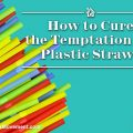 How to Cure the Temptation for Plastic Straws