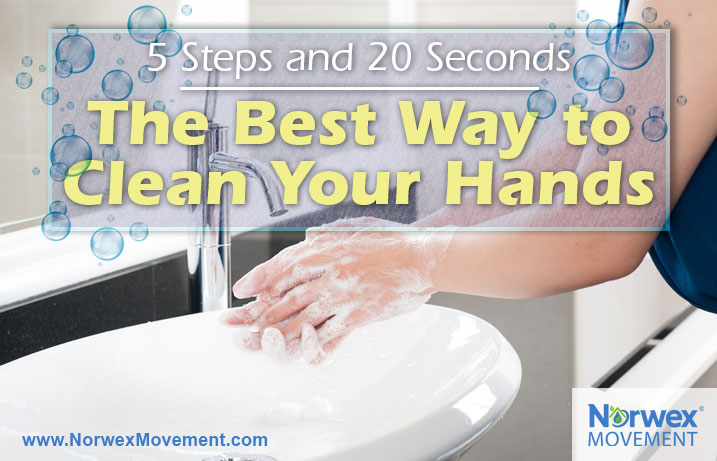 5 Steps and 20 Seconds—The Best Way to Clean Your Hands