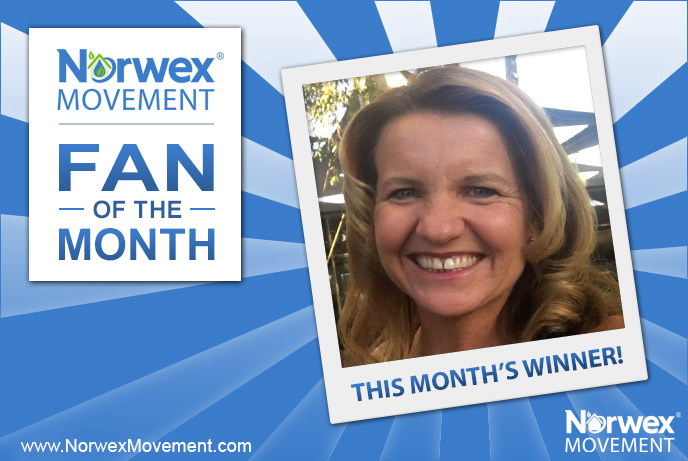 Norwex Movement October 2017 Fan of the Month