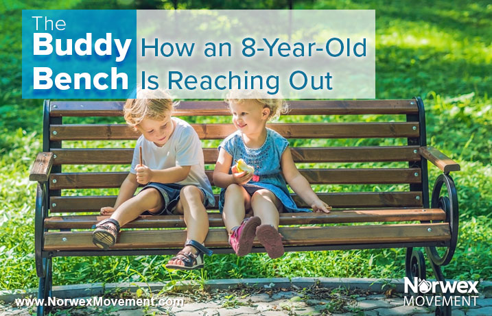 The Buddy Bench: How an 8-Year-Old Is Reaching Out