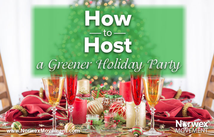 How to Host a Greener Holiday Party