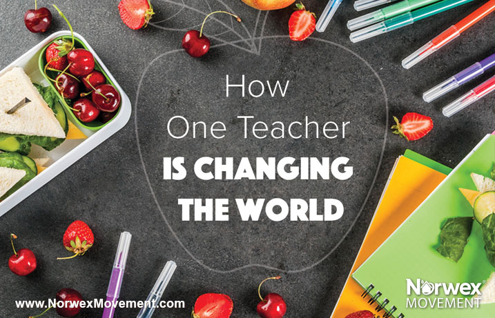 How One Teacher Is Changing the World