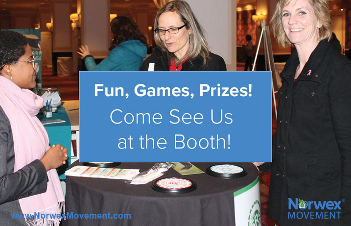 Fun, Games, Prizes! Come See Us at the Booth!