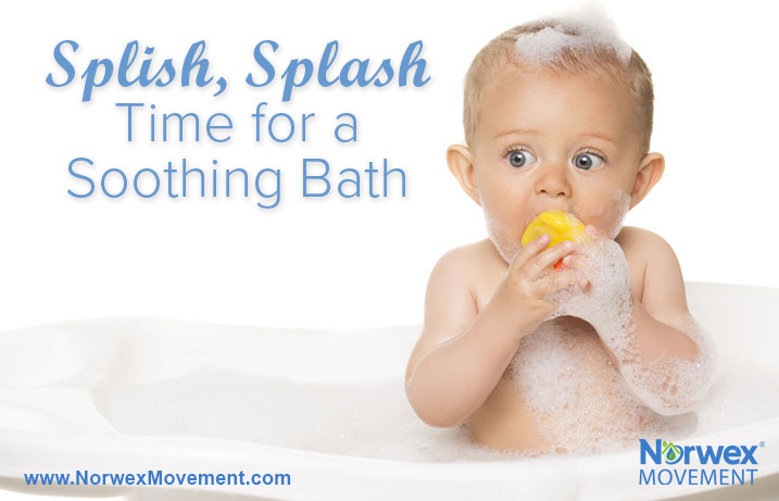Splish, Splash—Time for a Soothing Bath