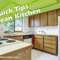 5 Quick Tips for a Clean Kitchen