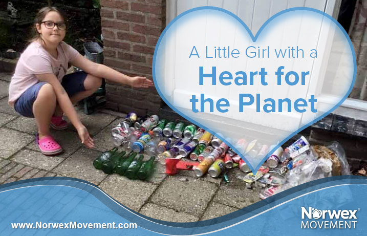 A Little Girl with a Heart for the Planet