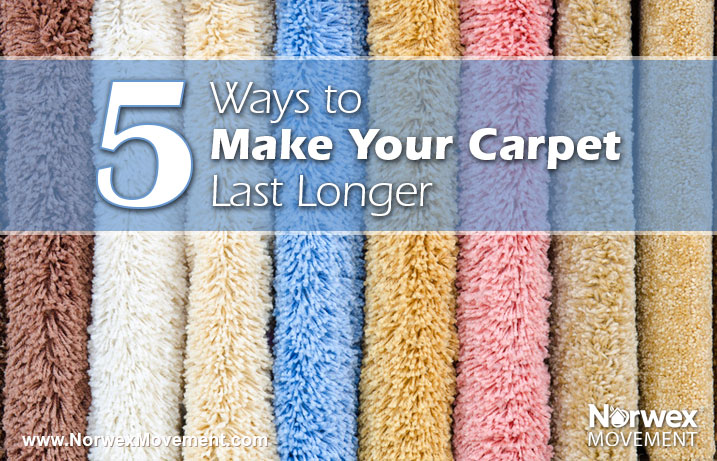 5 Ways to Make Your Carpet Last Longer