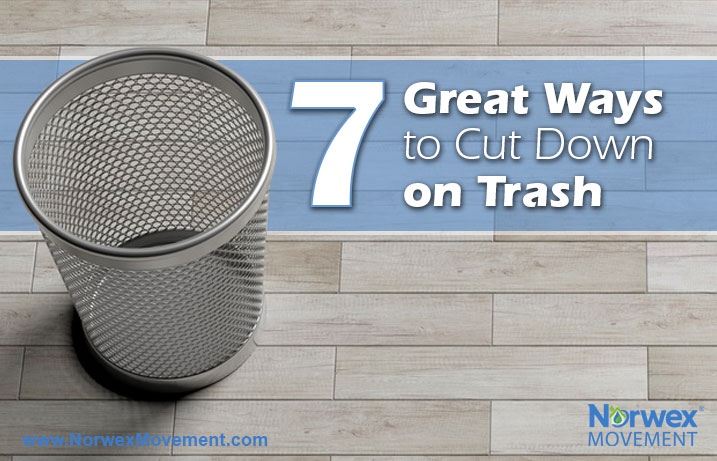 7 Great Ways to Cut Down on Trash