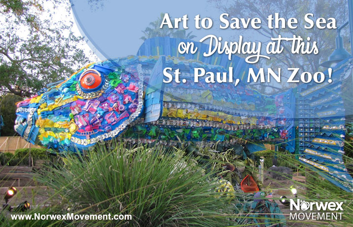Art to Save the Sea on Display at this St. Paul, Minnesota Zoo!