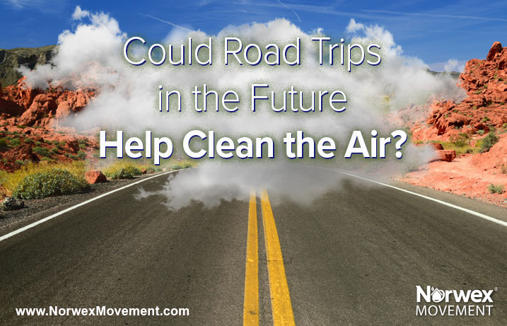 Could Road Trips in the Future Help Clean the Air?