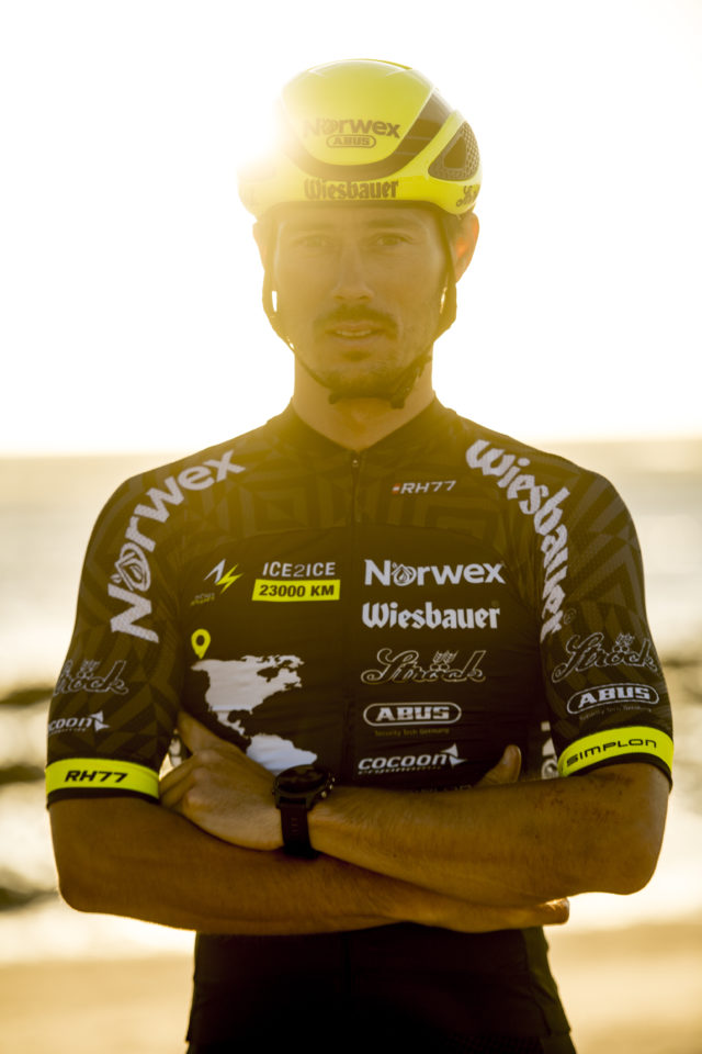 Michael Strasser, World Record Cyclist