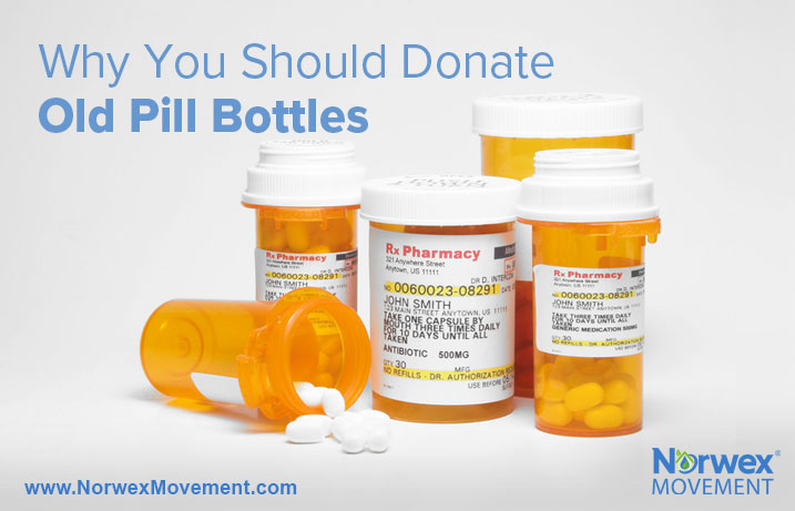 Why You Should Donate Old Pill Bottles