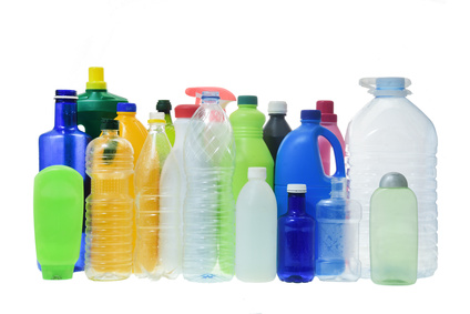 Plastic Cleaning Bottles