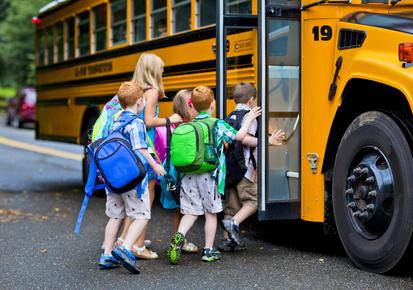 Riding the School Bus