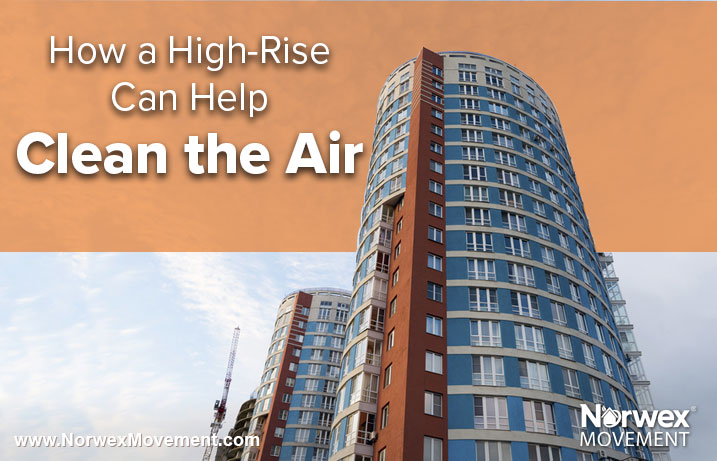 How a High-Rise Can Help Clean the Air
