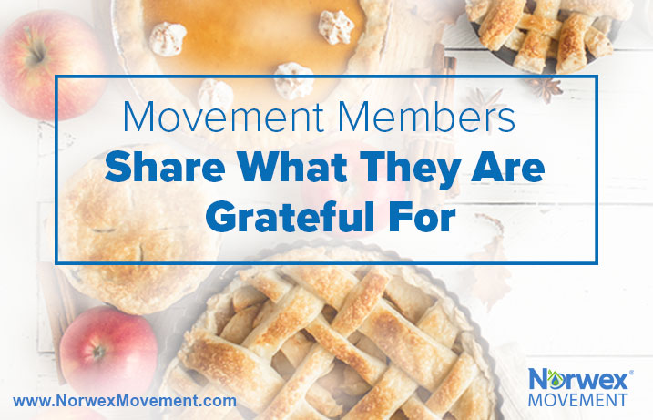 Movement Members Share What They Are Grateful For