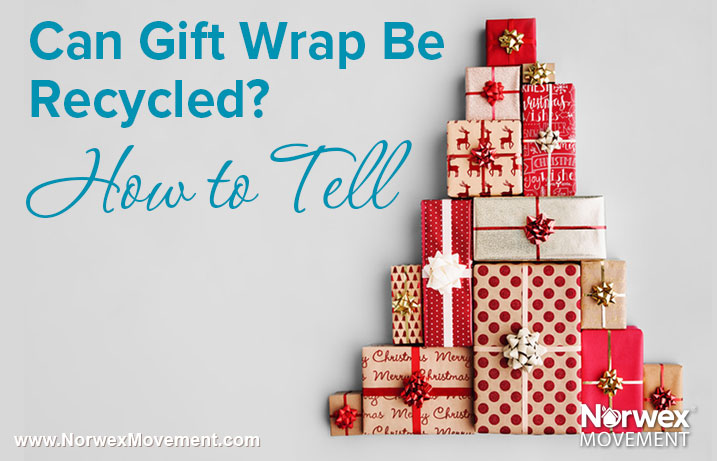 Can Gift Wrap Be Recycled? How to Tell