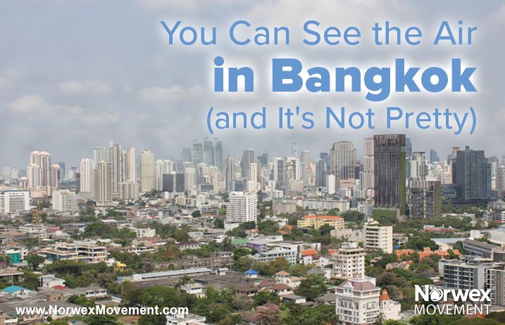 You Can See the Air in Bangkok (and It's Not Pretty)