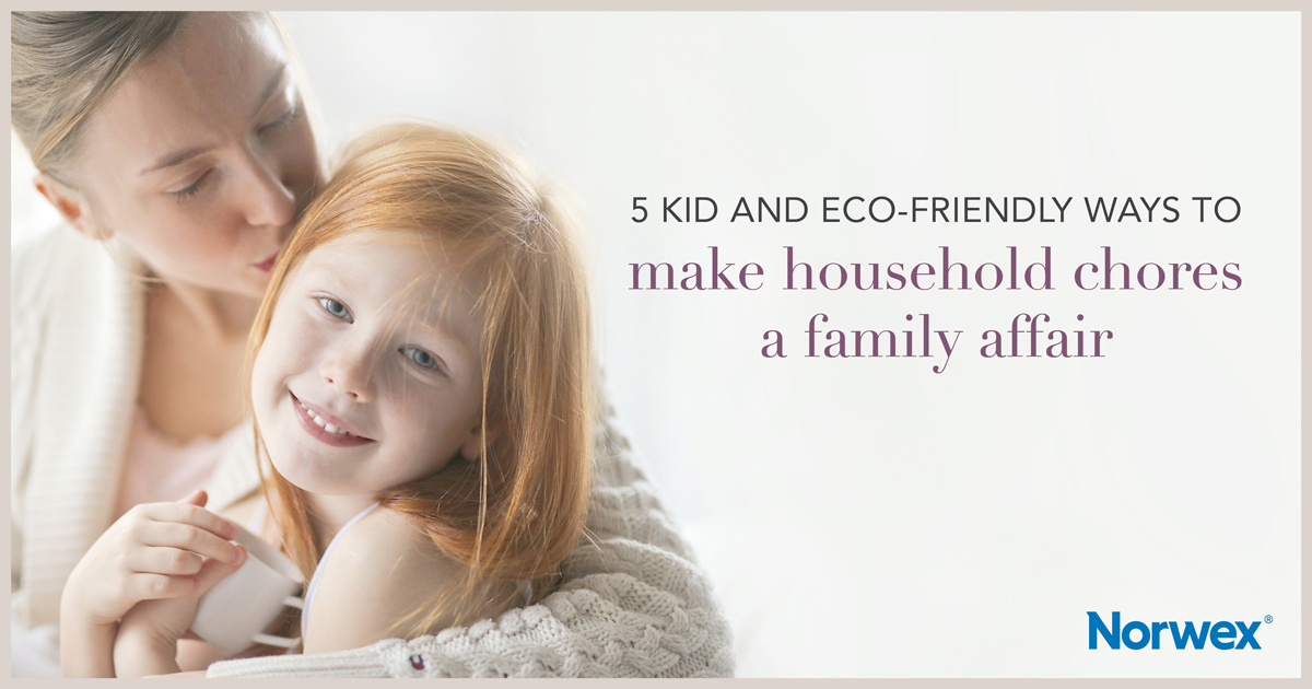 5 kid and eco friendly ways to household chores