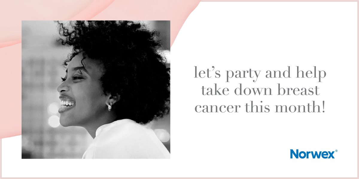 Let's Party and Help Take Down Breast Cancer This Month